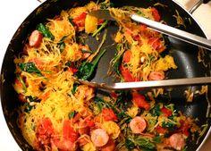 WEEKEND WINNER: PALEO SPAGHETTI SQUASH RECIPE Paleo recipes