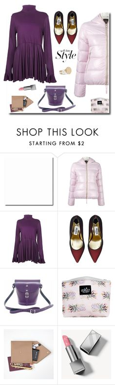 """""""Happy Weekend"""" by sue-mes ❤ liked on Polyvore featuring Duvetica, The Bee's Sneeze, Kim Kwang, Zatchels, Jessica Russell Flint, STOW, Burberry and Chloé"""