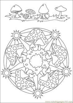 Free Printable Mandala Coloring Pages | free printable coloring page Mandalas 34 (Cartoons > Mandalas)