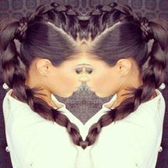 Siccck braided ponytail!! ★ TrackStarHoney ★ R E A D Y . S E T . S L A Y.