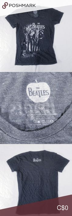 BEATLES T-SHIRT Beatles women's t-shirt is in excellent condition almost like brand new Tops Tees - Short Sleeve Plus Fashion, Fashion Tips, Fashion Trends, The Beatles, T Shirts For Women, Tees, Sleeves, Mens Tops, Closet