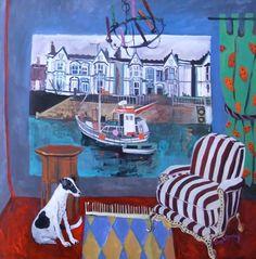 Seaside Location by Jenny Wheatley. Lemon Street Gallery