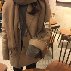 Korean Fashion Trends, Asian Fashion, Fall Winter Outfits, Autumn Winter Fashion, Cute Fashion, Fashion Outfits, Casual Outfits, Cute Outfits, Into The Fire