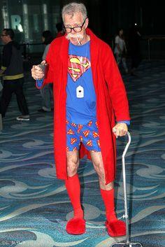 Old Superman, Superman Cosplay, Atheist, Dc Comics, Age, Writing, Fashion, Humor, Moda