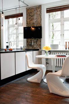 Un apartamento con estilo masculino en Copenhague - La casa de Freja