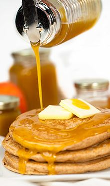 Homemade Peach Syrup