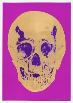 Till Death Do Us Part - Long Life - Purple African Gold Purple Imperial Purple Skull, picture from the series Till Death Do Us Part by Damien Hirst, LUMAS Artist ✓ Damien Hirst Paintings, Damien Hirst Art, Damien Hirst Butterfly, Flower Skull, Till Death, Purple Gold, Prints For Sale, Lovers Art, Online Art