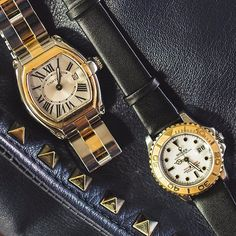 FLASH SALE FRIDAY: Watches for the Lady in your life.  Did you miss out on Adele tickets? Make up for it with something nice for her wrist. Order today before 3 PM EST to get it by Christmas and to keep you out of the doghouse.  LEFT Cartier Roadster 2675 C&C Price: $3,100 Flash Sale Price: $2,600 Reference: ERP18427 PROMO CODE: FS-CAR-ERP18427  RIGHT Rolex Ladies' Yachtmaster C&C Price: $4,000 Flash Sale Price: $3,750 Reference: ERP14639 PROMO CODE: FS-ROL-ERP14639  Click the link in our…
