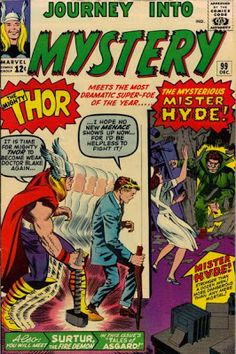 """Who is this Dr. Jekyll going after Nurse Foster? Marvel's Mr. Hyde is Calvin Zabo, a physician obsessed with R.L. Stevenson's """"Jekyll/Hyde."""" Unable to work under Dr. Blake, he created a formula that made him a beast similar to the story's Hyde, and sought revenge against Blake. You know what that means, Marvel buffs."""