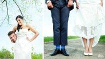 Hochzeitsfotografie mit einem Augenzwinkern ;)