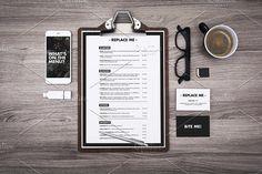 restaurant menu clipboard mockup by mactrunk on @creativemarket