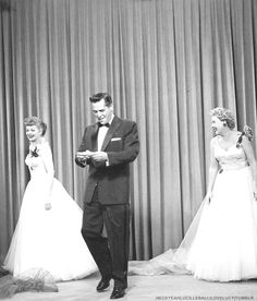 The genuine friendship between the stars is visible in this shot between takes of Lucy and Ethel Buy the Same Dress.