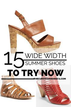 Whitney Nic, back to give you our 15  wide width summer shoes you'll love!  If you're like me, you struggle to find cute sandals and wedges to prance...