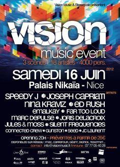 Vision Music Event - Samedi 16 juin 2012 à Nice avec Speedy J, Joseph Capriati, Nina Kraviz, Ed Rush entre autres-http://www.kdbuzz.com/?vision-music-event-samedi-16-juin-2012-a-nice-avec-joseph-capriati-speedy-j-nina-kraviz-ed-rush-entre-autres