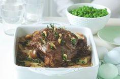 Pomalu pečená jehněčí kýta & brambory boulangère | Apetitonline.cz Beef, Food, Meat, Essen, Meals, Yemek, Eten, Steak