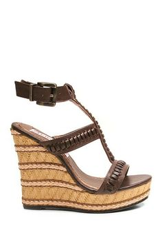 Two Lips Too Hip Wedge Sandal by Non Specific on @HauteLook