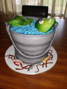 fish fondant 3d cake