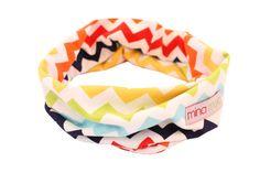 Rainbow chevron snoodi – Mina Moo and Baby Rainbow Chevron, Winter Day, Little Ones, Comfy, Knitting, Fabric, How To Make, Cotton, Baby