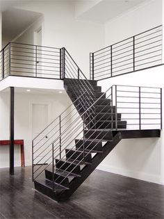 Continuous Bent Steel Stair Tread from Serett | MATERIALS and SOURCES