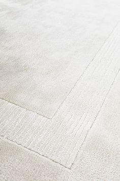 Tuftattu matto ROME 200x300 cm - Valkoinen - Matot - Jotex