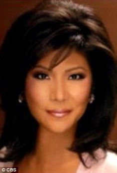Julie Chen after her eye surgery