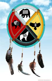 Medicine Wheel Design by Kathy Weiser-Alexander