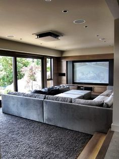 Woodvalley Residence - contemporary - media room - vancouver - Gaile Guevara