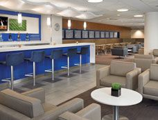 Delta Sky Club - Lounge Chairs & Bar Stools