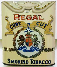 Pocket Tobacco Tin - Regal