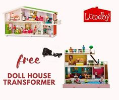 Light up your Lundby doll's house with the purpose built transformer plug that converts to the child safe 5 volt lighting system from 240 volt. For a limited time we are giving away a free transformer with every Smaland or Stockholm doll house purchase in Australia. The transformer has short-circuit protection and is tested to meet Australian safety standards. Only this plug can be used for your Lundby doll's house. Order online at www.lundby.com.au But hurry, offer ends 31st October 2017.