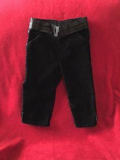 Gymboree Glamour Kitty Tuxedo Satin Stripe Bow Black Pants 18-24 Months EUC #Gymboree #Pants #Dressy