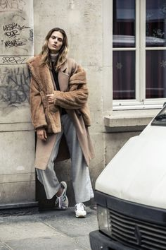 [New Editorial] | [www.nouvelle.dk] This months editorial from Costume with Oh land on the cover. Shot in the streets of Paris by photographer Dennis Stenild. Styling by Maiken Winther.