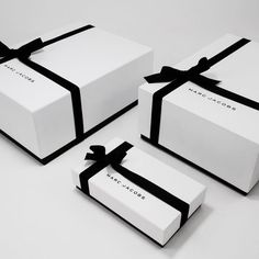 ~ Living a Beautiful Life ~ Marc Jacobs - packed wrappedideas for jewerly logo design inspiration boxesWhen you design packaging for a living, shopping's considered research.like the ribbons - gift like boxesThe Packaging Design Process - Part 1 Clothing Packaging, Fashion Packaging, Luxury Packaging, Soap Packaging, Jewelry Packaging, Brand Packaging, Design Packaging, Packaging Ideas, Gift Box Packaging