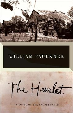 "William Faulkner, sometimes called ""America's Dickens"" - here Faulkner writes of life in the antebellum South after the Civil War. This book, along with The Town and The Mansion, compose the ""Snopes Trilogy"" by Faulkner."