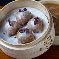 Wagyu Beef Kimchi dumplings