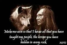wolf and crow relationship with god