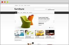 Responsive Furniture Store theme for Jigoshop