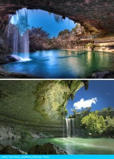 The world's most amazing pools:  Hamilton Pool, TX