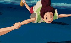 Spirited Away: Listen, Haku. I don't remember it, but my mom told me... Once, when I was little, I fell into a river. She said they'd drained it and built things on top. But I've just remembered. The river was called... Its name was the Kohaku River. Your real name is Kohaku.