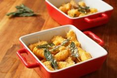 Passover Sweet Potato Gnocchi with Fried Sage #JCCNYC