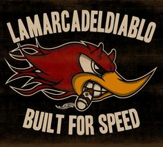 BUILT FOR SPEED 2 - LA MARCA DEL DIABLO by Maleficio Rodriguez, via Behance