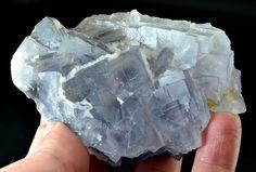 254 Gram Top Quality Blue Color Fluorite Specimen From Baluchistan Pakistan