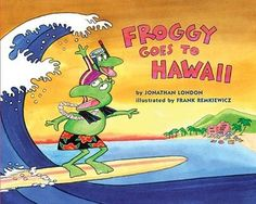 Teaching Onomatopoeia with Froggy Goes to Hawaii #weteach...and I have this book!