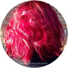 Kate's birthday hair by Robin! Purple rooted to bright magenta color melt using our new line of cruelty-free amazing semi permanent colors!! #salonheadcandy #arcticfoxhaircolor #americansalon #btcpics #magentahair Follow her on Instagram @headcandyrobin #headcandyrobin