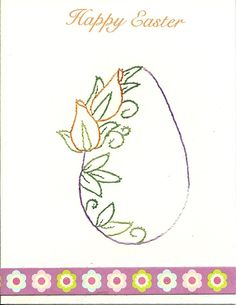 Easter Flower egg 3 by HandmadeCardsByAnita on Etsy