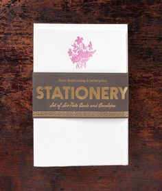 wildflowers stationery set