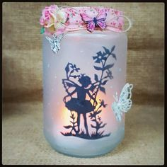 Check out this item in my Etsy shop https://www.etsy.com/uk/listing/275494468/fairy-jar-magicalglitterycandle-holder