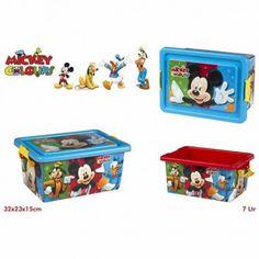 Juguete MICKEY CAJA ORDENACION 7L Precio 9,42€ en IguMagazine #juguetesbaratos