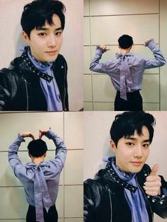 Suho - 170101 Official EXO-L website update Kyungsoo, Yixing Exo, Kaisoo, Chanbaek, Chanyeol, Exo L Website, Exo 2017, 5 Years With Exo, Xiuchen