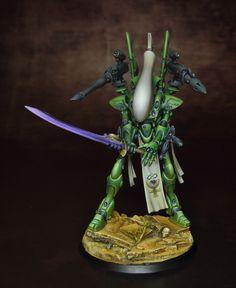 Biel-Tan Eldar Wraithlord